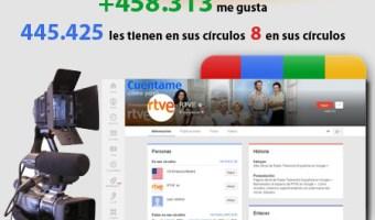 infografia RTVE Google+ community internet the social media company redes sociales community manager