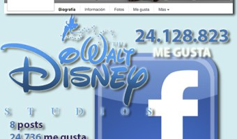 infografia Walt Disney Studios Facebook community internet the social media company