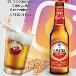 Amstel se va de cañas en Instagram