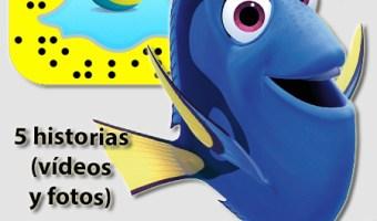 Disney Pixar traslada su universo animado a Snapchat