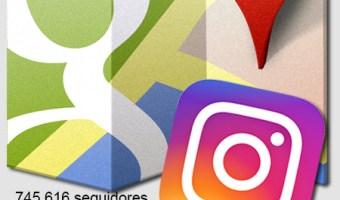 infografia google maps Instagram Stories Community Internet