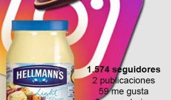 Hellmann's_spain y sus recetas en Instagram