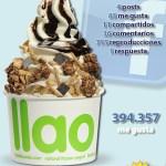 Llaollao y sus refrescantes helados en Facebook