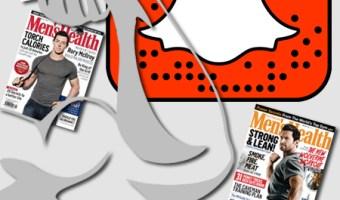 infografia mens health Snapchat analisis community internet the social media company