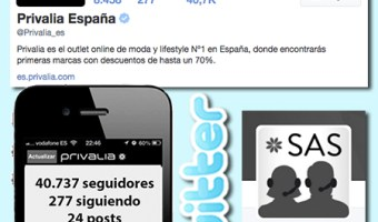 infografia privalia espana twitter community internet the social media company
