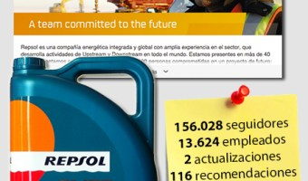 infografia repsol Linkedin community internet the social media company community management