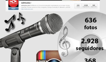 infografia sol musica Instagram redes sociales social media community manager enrique san juan