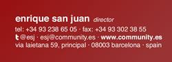 la cuenta de twitter en als tarjetas de visita community internet social media community manager