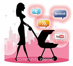 las redes sociales pertenecen a las mujeres - community internet the social media company - barcelona - enrique san juan