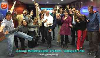 seminario marketing digital community internet enrique san juan santiago de chile abril 2015