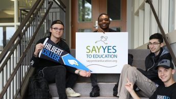 Hilbert College Students Say Yes to Education