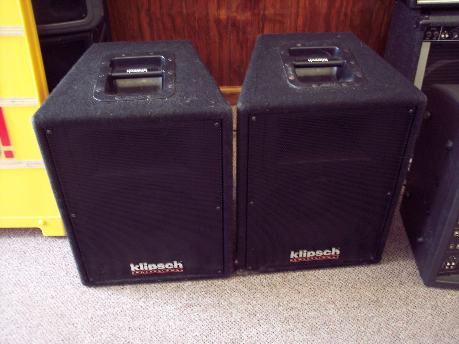 Old Klipsch Professional Pa Speakers