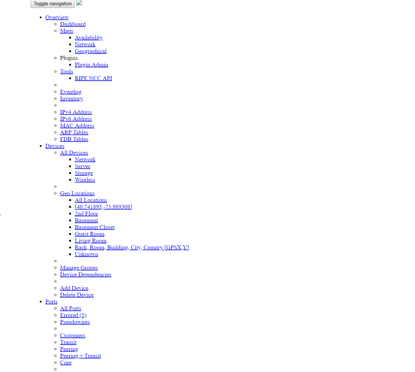 not able to access webgui after install