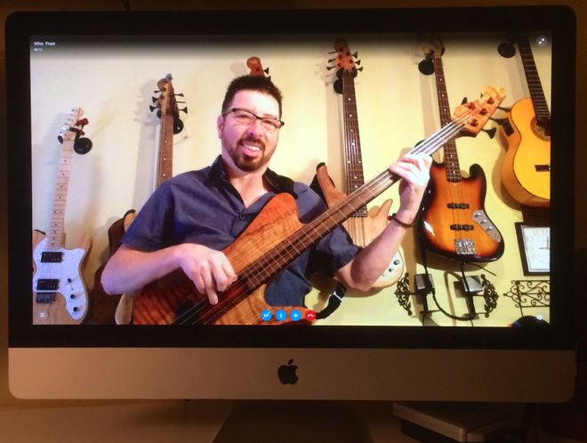 Bass Lessons with Mike Frost