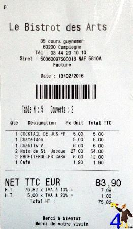 print a receipt in a pos use of ofn