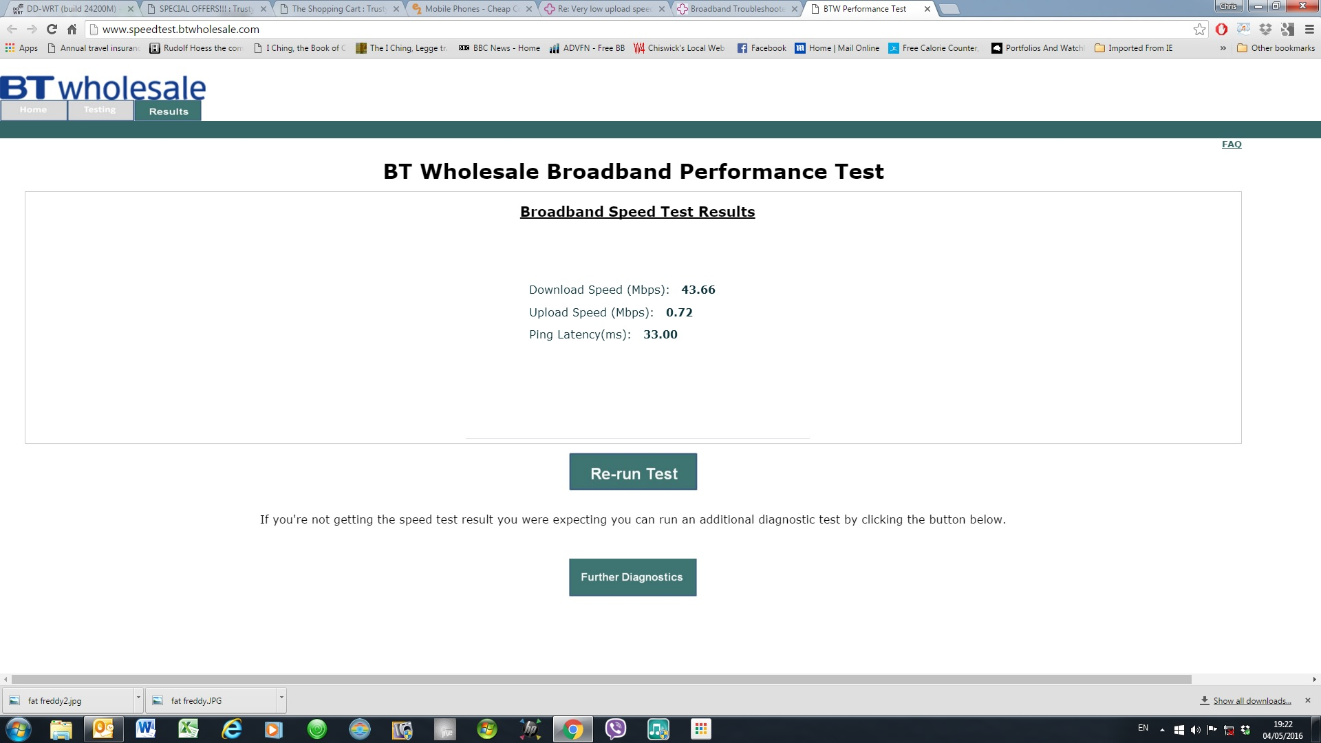 Very Low Upload Speed