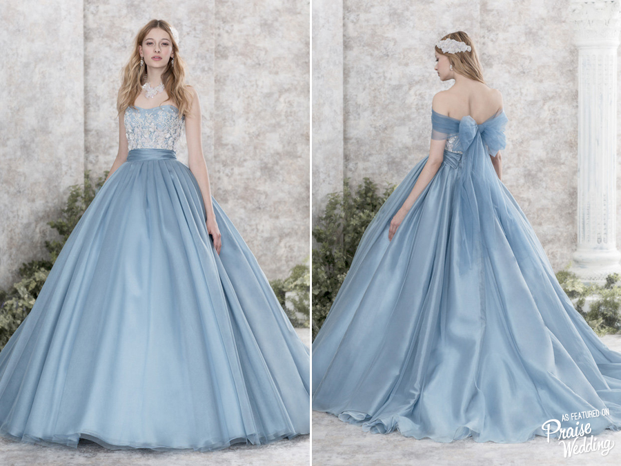 This Lovely Blue Gown By Hardy Amies Is Like A Modern