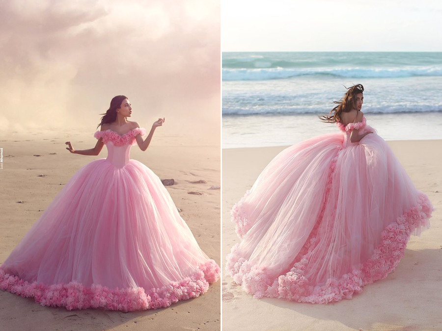 Girls, Say Hello To Your Dream Come True In Wedding Dress