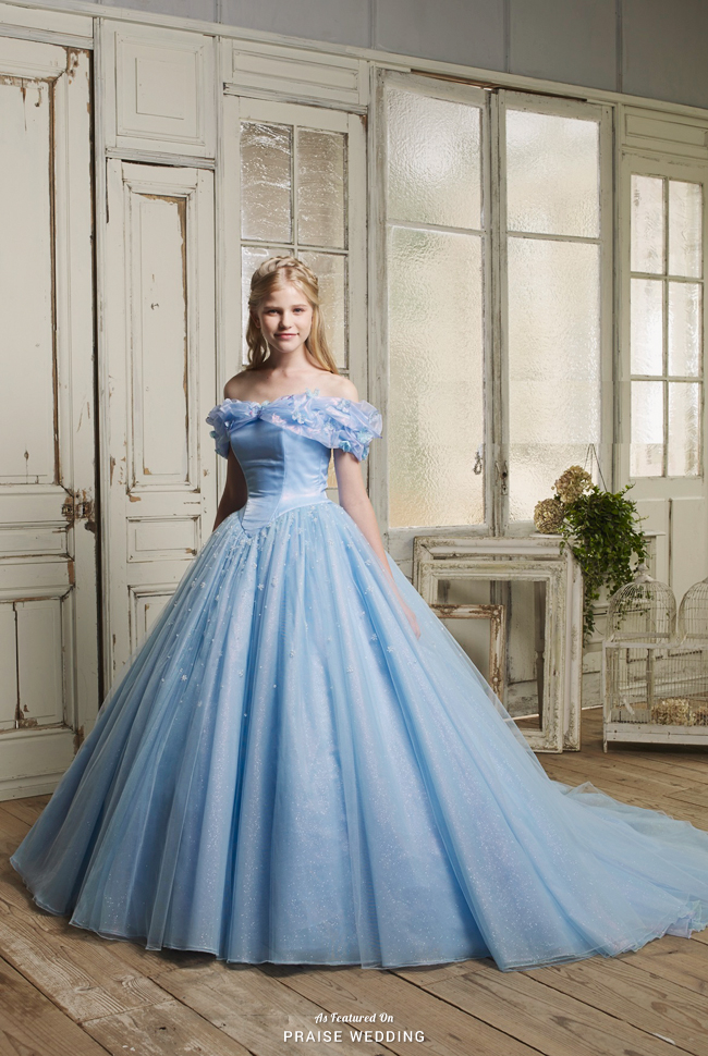This Romantic Cinderella Inspired Gown From Ai Royal