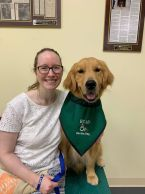 ECAD Client Wahle and Service Dog Benefit from Elizabethtown, Ky.