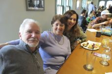 Phil and Jeannette Brunjes of Canaan and Alicia Whiting of East Canaan.