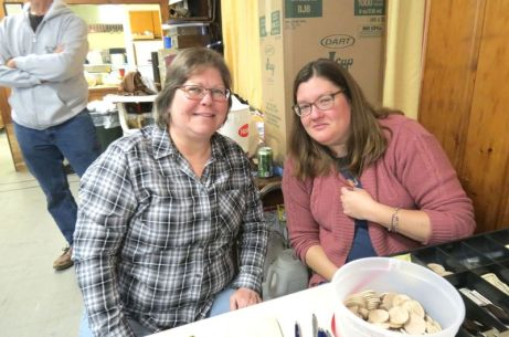 Liz Cooper and Marlena Aakjar, both of Sharon.