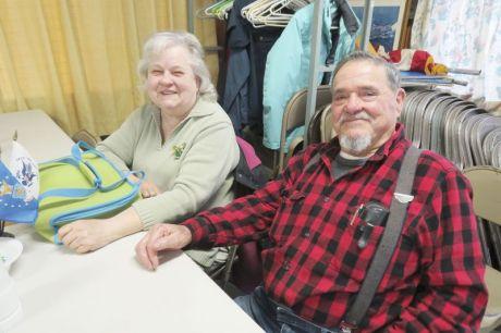 Anita and Howard Baird of Sharon