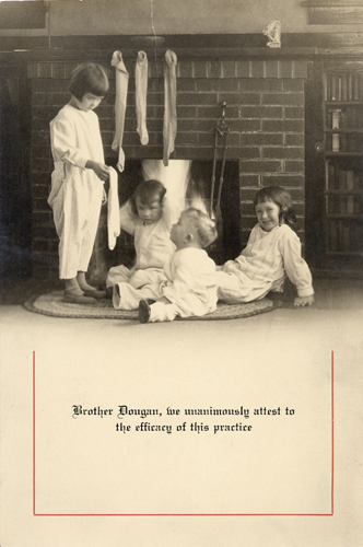 1930 Dougan Christmas Card