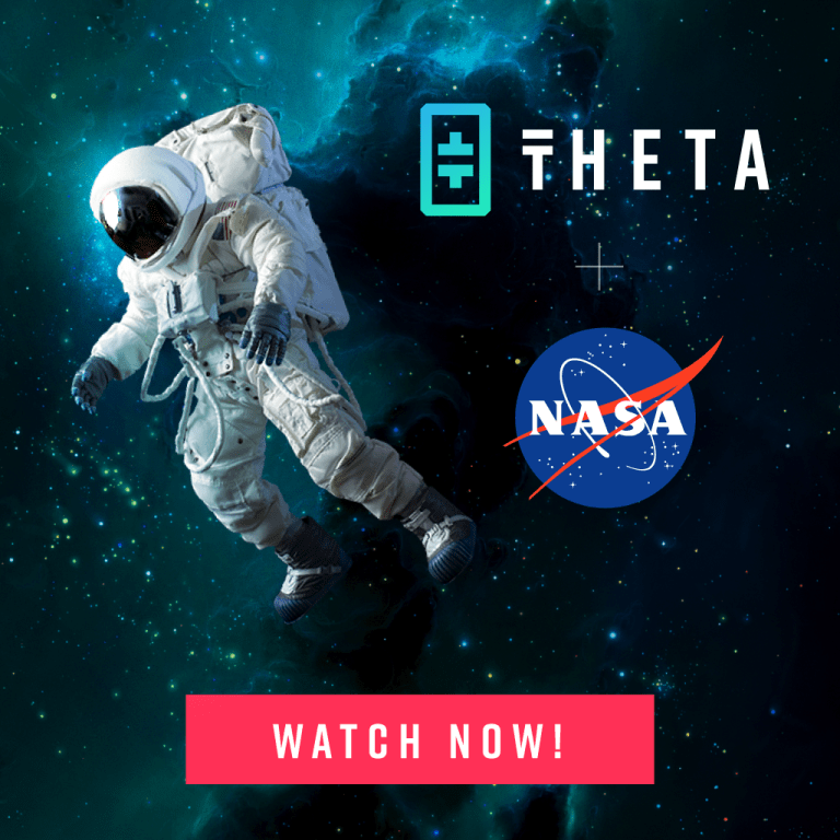 NASA TV on the Theta Network