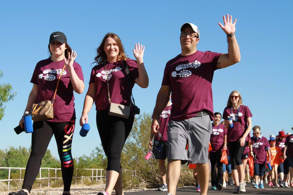 Sam Levitz Sponsors HungerWalk Tucson
