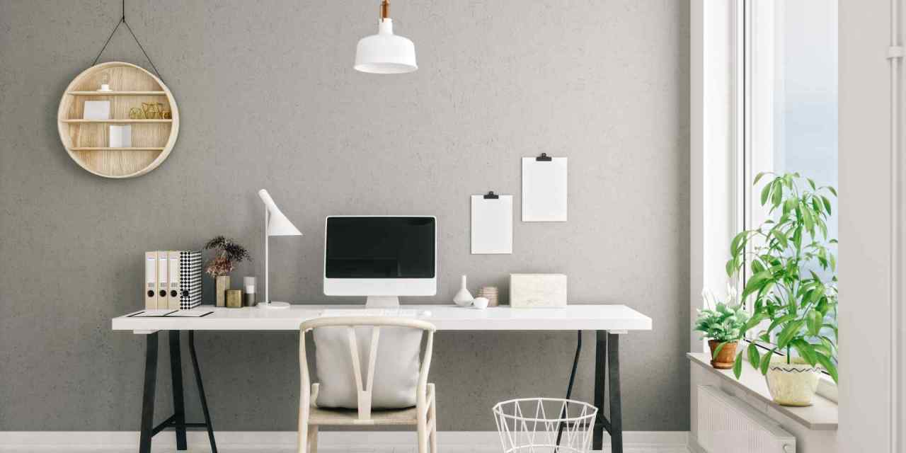 7 Easy Ideas for Furnishing or Sprucing Up Your Home Office