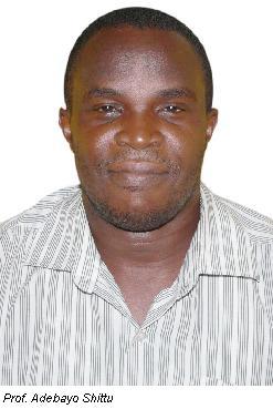 Professor Shittu Wins ECOWAS Grant