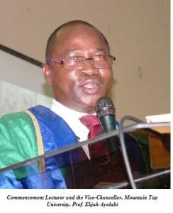 Prof. Elijah Ayola