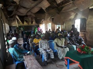 A cross section of the people of Ibudo Ayetoro Community at the Workshop