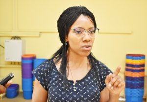 Postharvest Specialist, Dr. Louise Abayomi