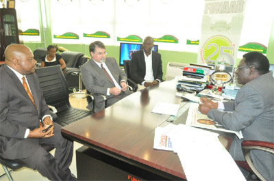 USDA seeks collaboration with FUNAAB