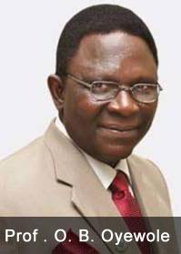 Prof. O.B Oyewole