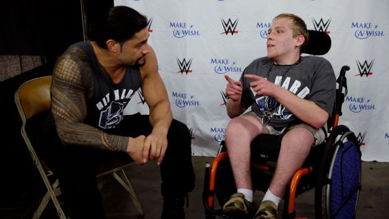 Circle Of Champions Roman Reigns Meets John In San Diego WWE Community