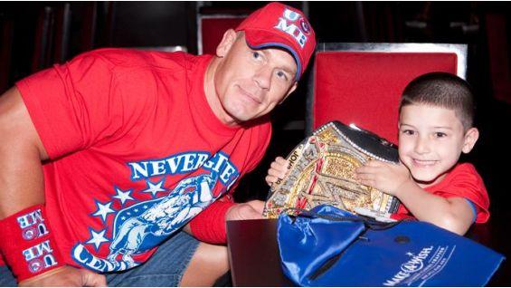 Circle Of Champions John Cena Grants Wishes WWE Community