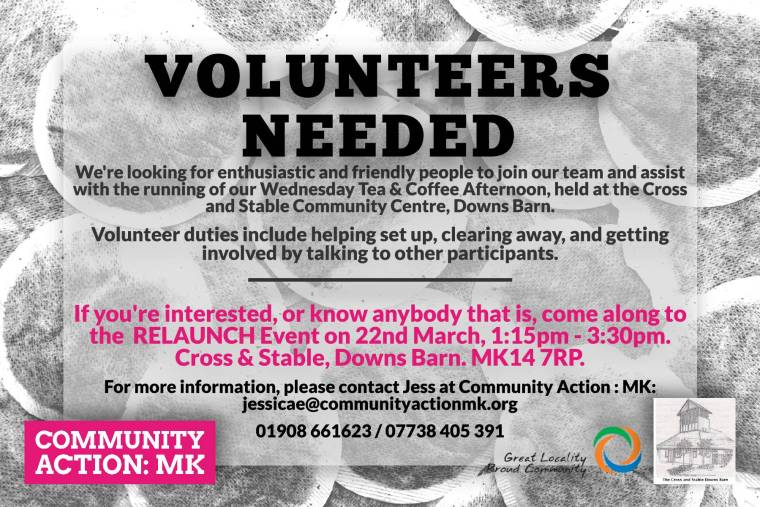 Downs Barn Coffee Afternoon Volunteer Poster (2)-2