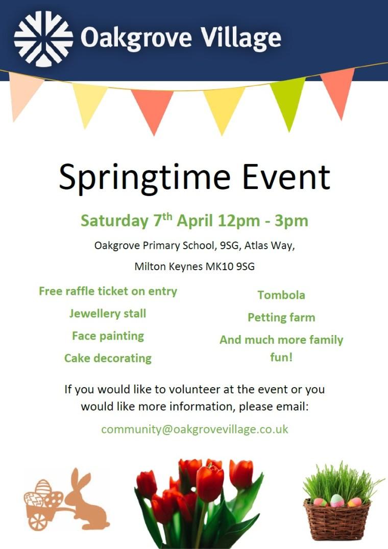 Oakgrove Village Springtime Event