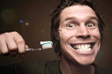 Pure and local: natural teeth whitening