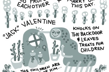TCE Illustrates: Valentine's Day Folklore