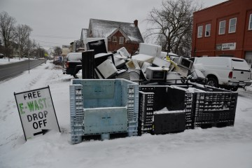 Where our TVs Go to Die