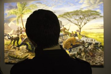 Monkman's Four Continents Together at KWAG