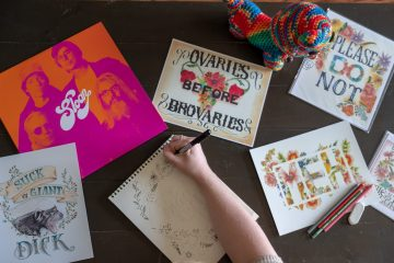 The Side Hustle: Taking It Less Seriously With Cheeky Art