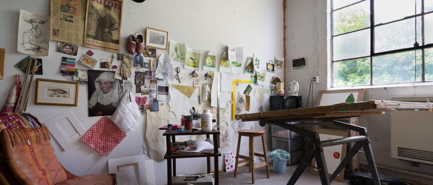 A Maker's Space: Inside Globe Studios