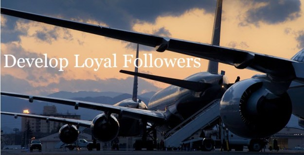 Community Flights Airports - Develop Loyal Followers