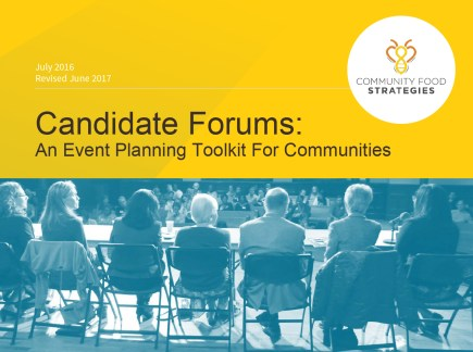 Candidate Forums: An Event Planning Toolkit For Communities