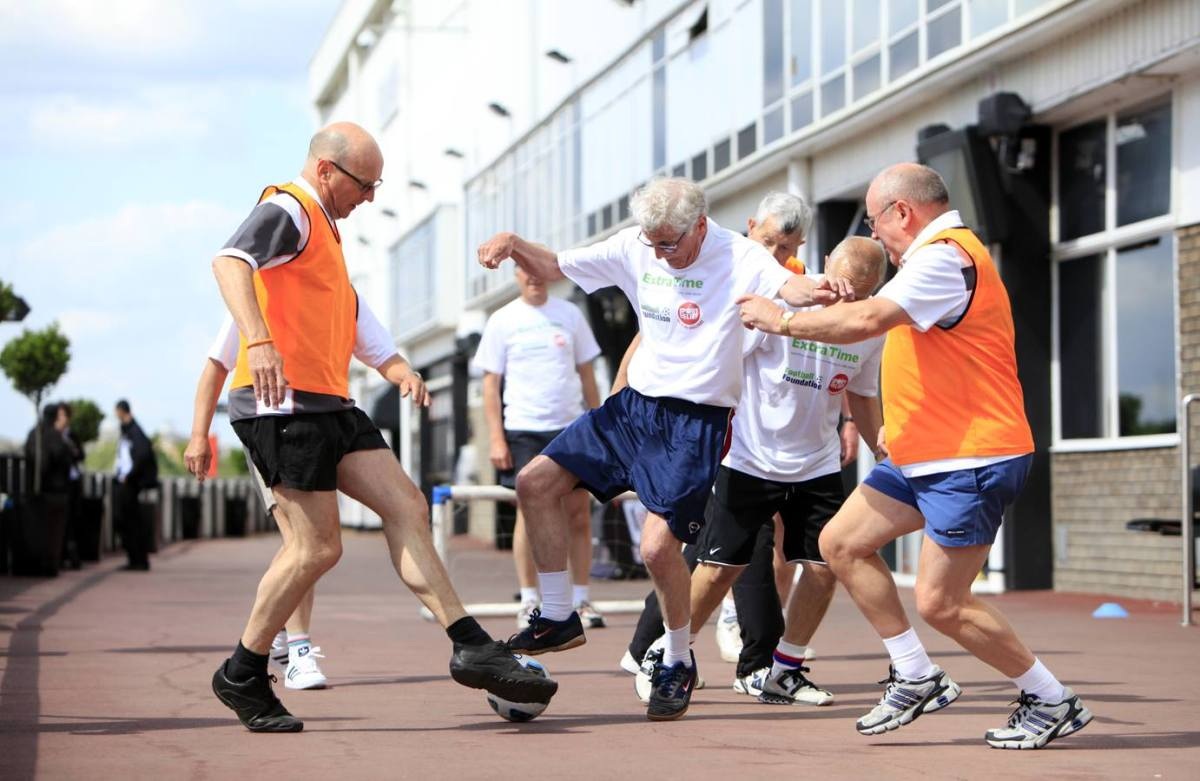 Football-led health programmes effective in promoting ...